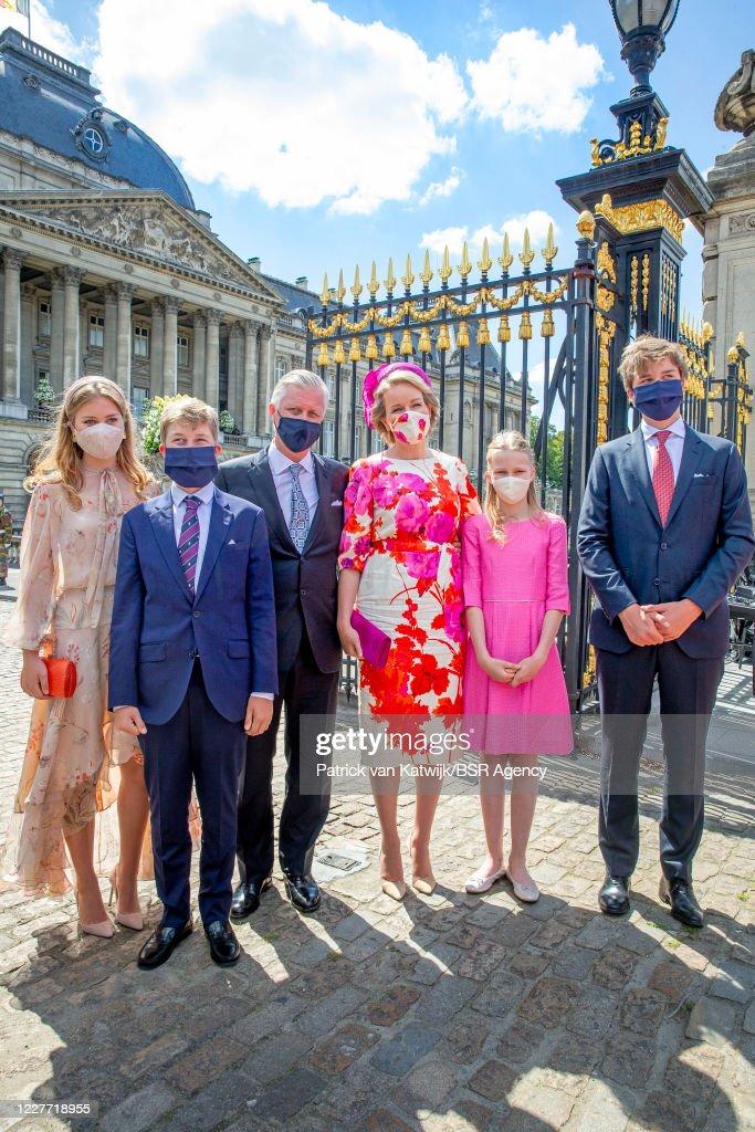 National Day Of Belgium 2020 : News Photo