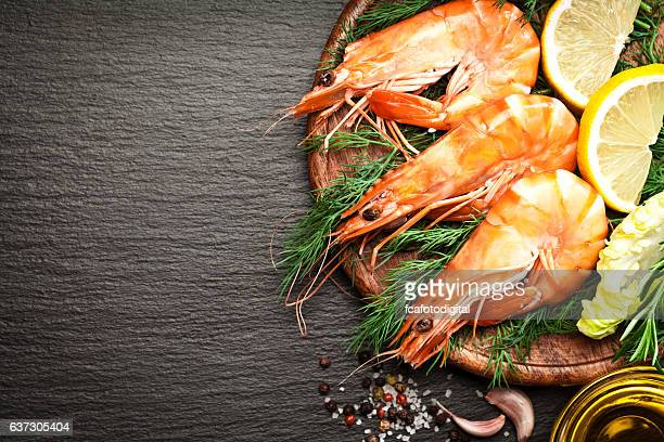 king prawns - seafood stock pictures, royalty-free photos & images