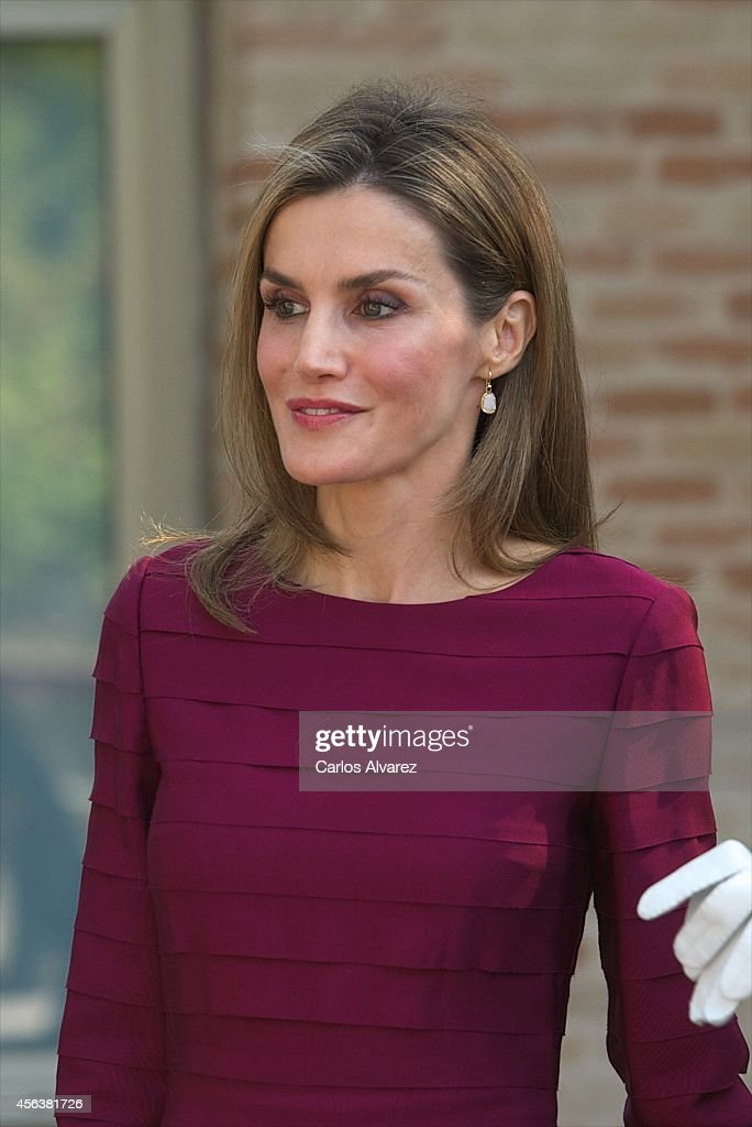 Spanish Royals Attend the Opening of the University Year in Toledo : News Photo