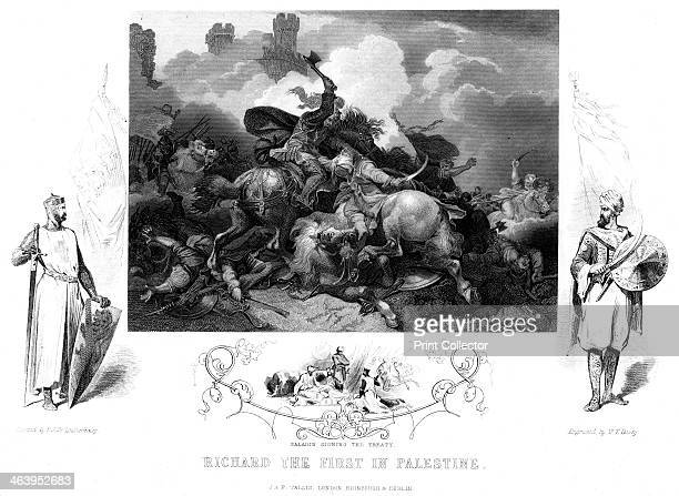 King Richard I at the Battle of Jaffa 1192 The Battle of Jaffa took place during the Crusades as one of a series of campaigns between Saladin's army...