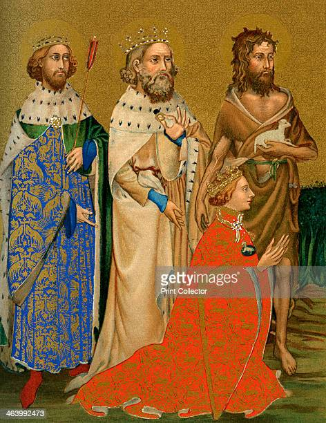 King Richard II of England and his patron saints 14th century The reign of Richard II was characterised by intermittent periods of tension between...