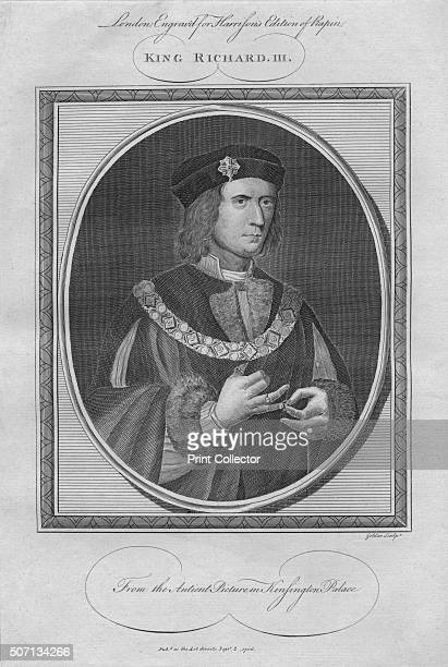 King Richard III 1786 From Harrison's Edition of Rapin's History of England by Paul Rapin de Thoyras [John Harrison London 1786] Artist Anon
