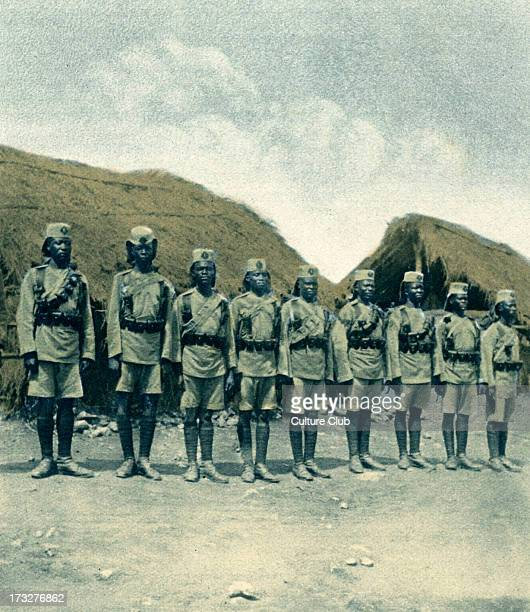 King 's African Rifles during World War 1 1916 Batallion under the Colonial Office rather than War Office Operating in British East Africa Uganda and...
