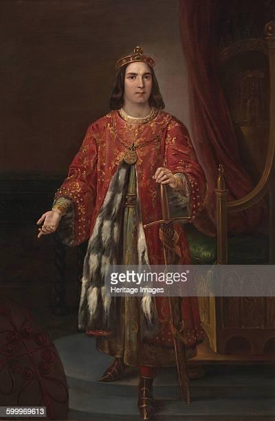 King Sancho III of Castile 1850 Found in the collection of Museo del Prado Madrid Artist Castelaro y Perea José