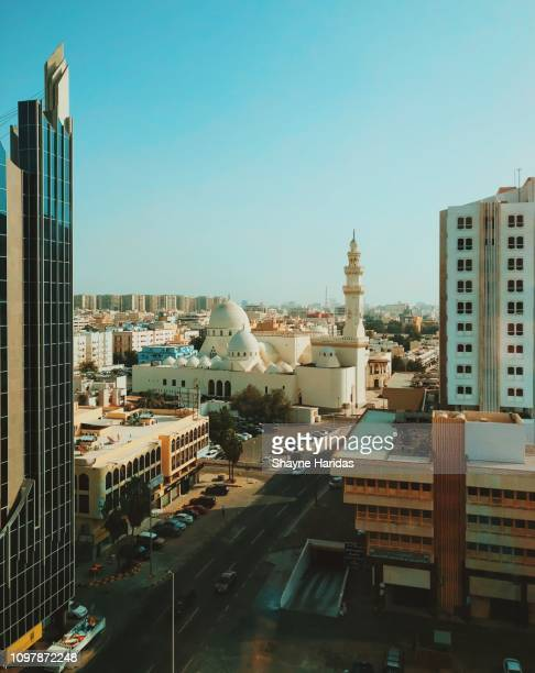 king saud mosque, jeddah - jiddah stock pictures, royalty-free photos & images