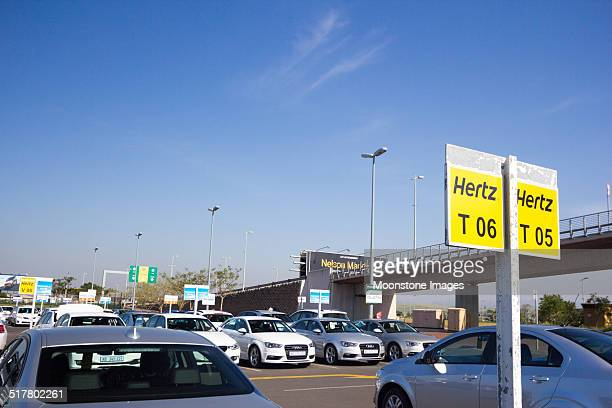 king shaka international airport in durban, south africa - hertz stock pictures, royalty-free photos & images