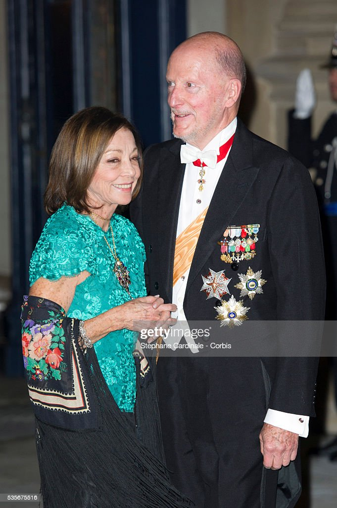 Luxembourg - The Wedding of Prince Guillaume of Luxembourg & Stephanie de Lannoy - Gala Dinner : News Photo