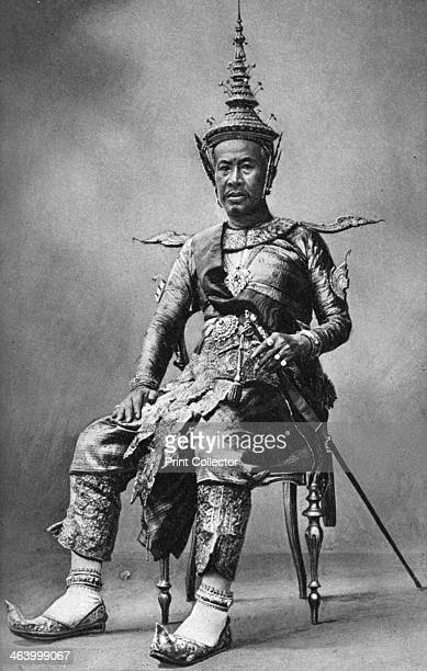 King Sisowath of Cambodia 1922 Illustration from Peoples of All Nations Their Life Today and the Story of Their Past volume II British Empire to...
