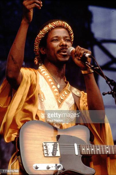 King Sunny Ade on 8/19/83 in Chicago Il