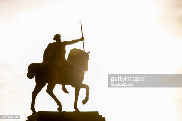 king tomislav - zagreb stock pictures, royalty-free photos & images