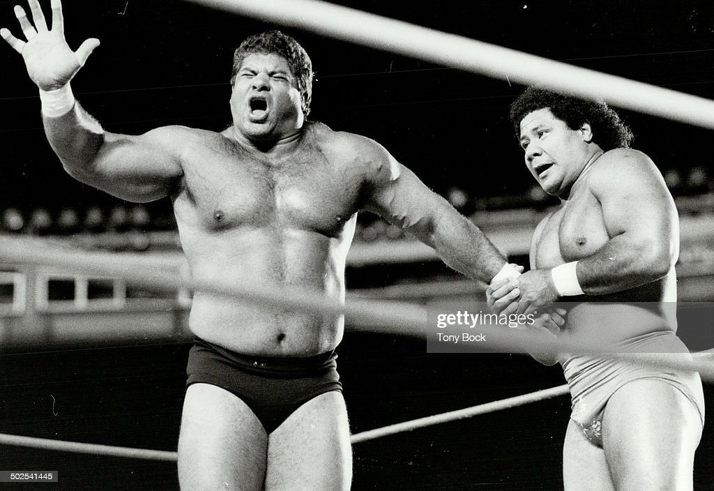 King Tonga and Magnificent Muraco : News Photo