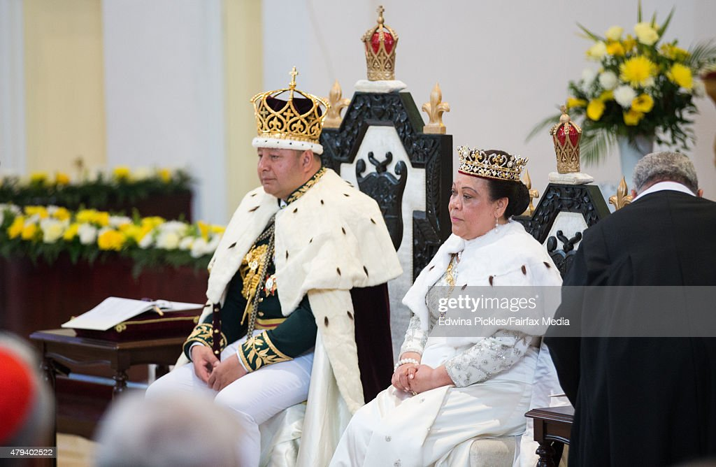 Tonga Marks Coronation Of King Tupou VI : News Photo
