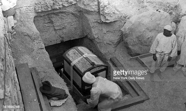 King Tut Worldwide interest has been aroused in the discovery and now the removal of ancient treasures valued at $15000 from the tomb of King...