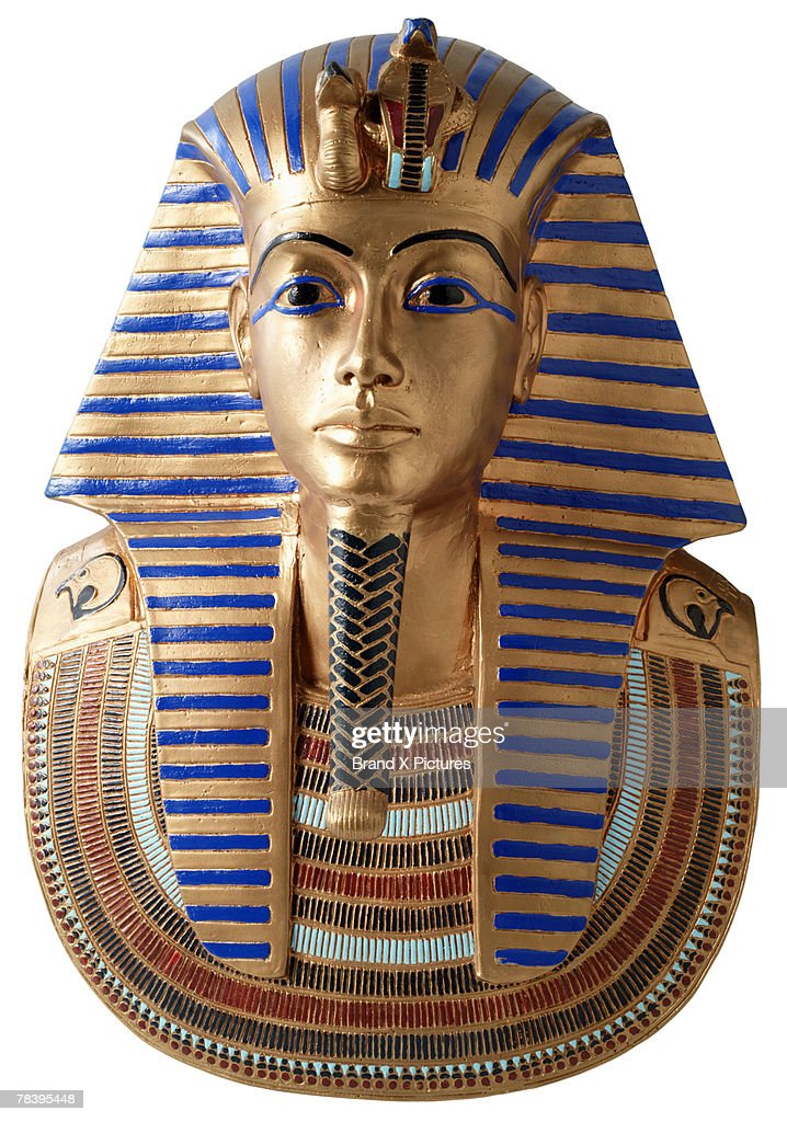 King Tut's burial mask : Stock Photo