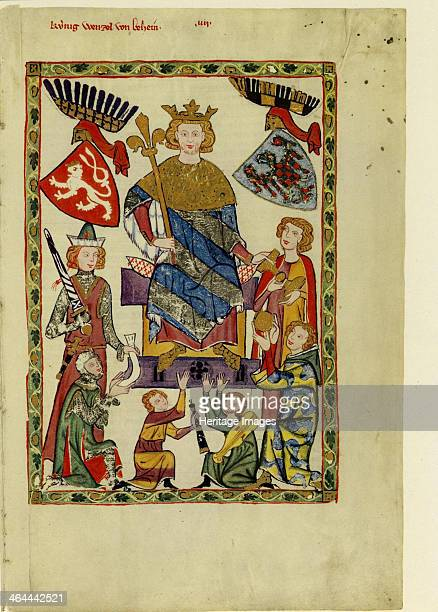 King Wenceslaus II of Bohemia Between 1305 and 1340 Found in the collection of the Library of the Ruprecht Karl University Heidelberg