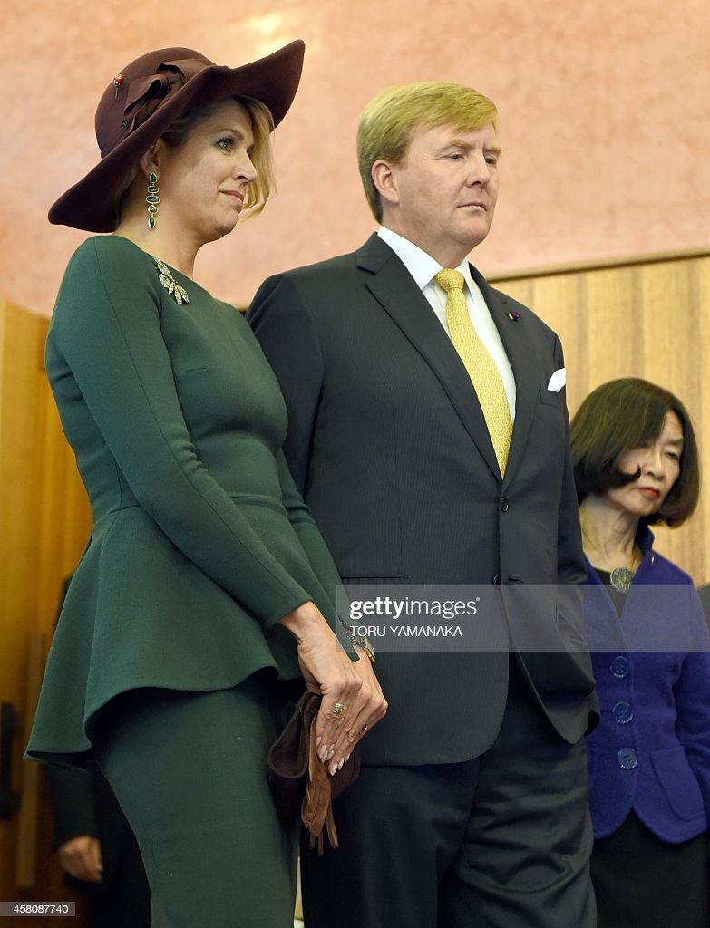 JAPAN-NETHERLANDS-DIPLOMACY-ROYALS : News Photo