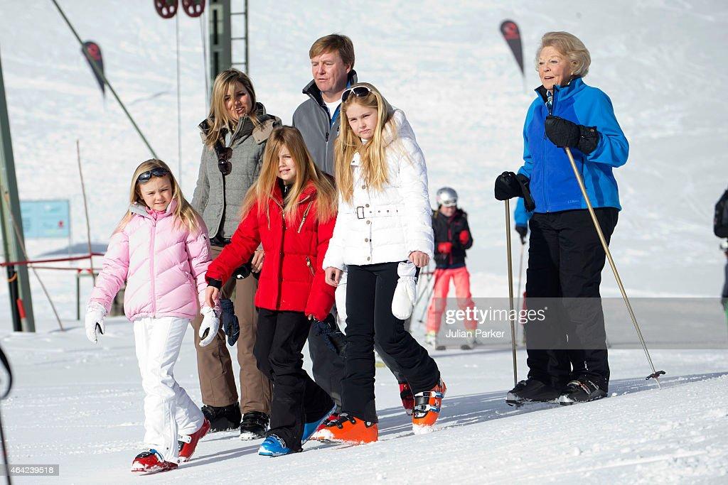 Dutch Royal Family Photocall : News Photo