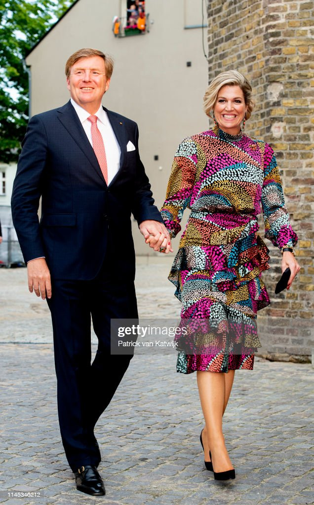 King Willem-Alexander and Queen Maxima Visit Germany day 2 : News Photo