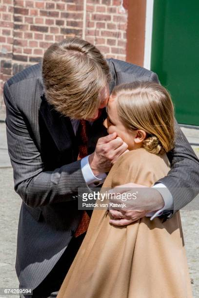 King WillemAlexander and Princess Ariane of The Netherlands attend the King's 50th birthday during the Kingsday celebrations on April 27 2017 in...