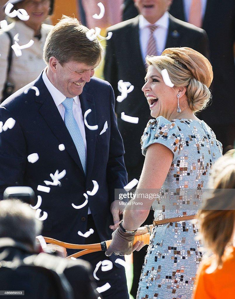 The Netherlands Celebrate Kingsday In De Rijp : News Photo