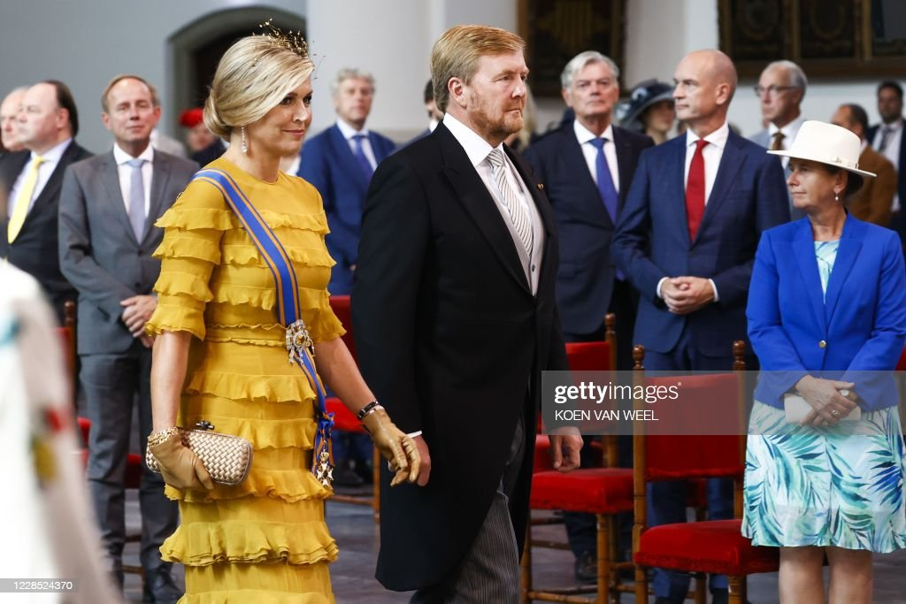NETHERLANDS-ROYALS-POLITICS-PARLIAMENT : News Photo