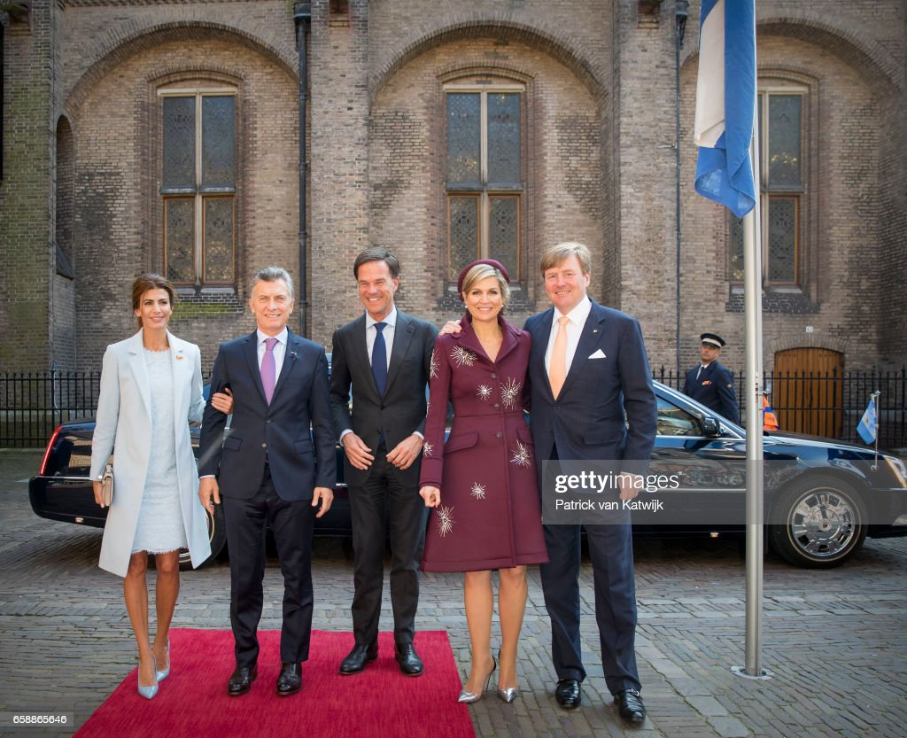 President of Argentina Mauricio Visits The Netherlands : Day Two : News Photo