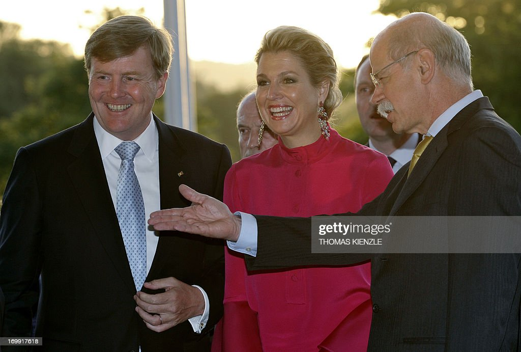 GERMANY-NETHERLANDS-ROYALS : News Photo