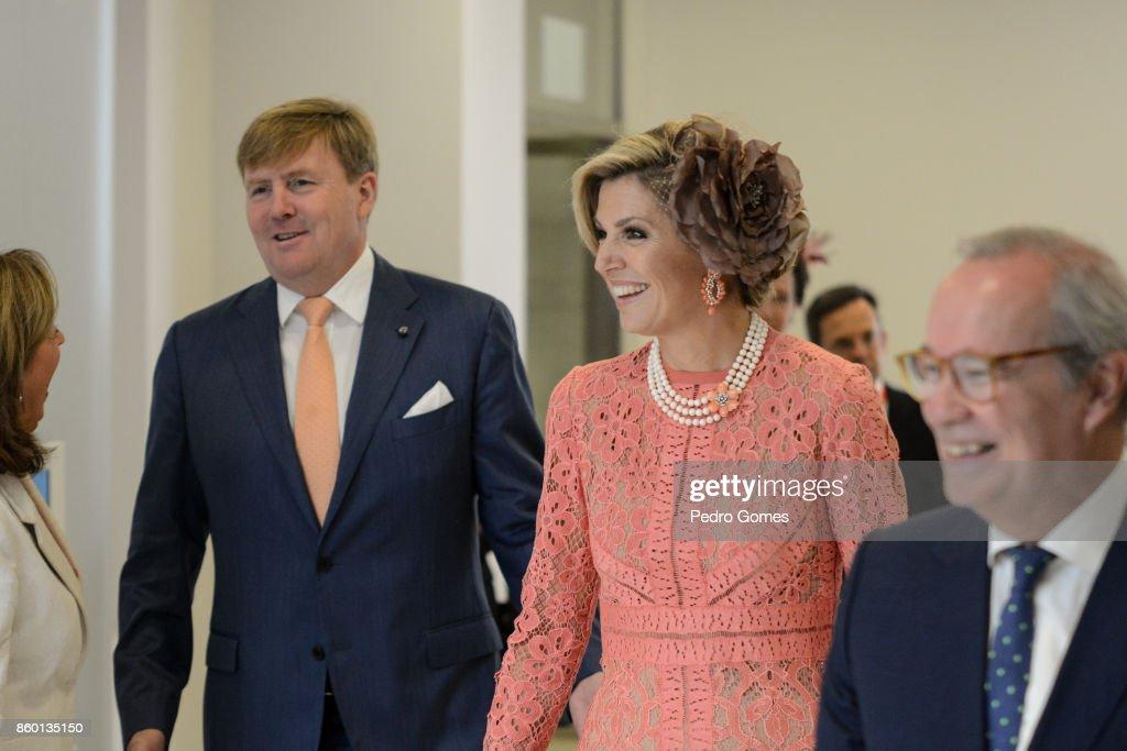 Day 2 - Dutch Royals Visit Portugal : News Photo