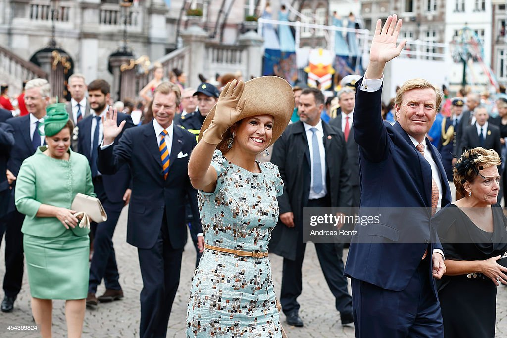 200 Years Of The Kingdom Of The Netherlands In Maastricht : News Photo