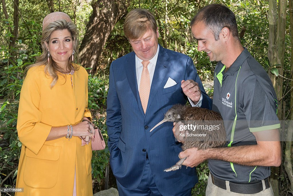 King Willem-Alexander And Queen Maxima Of The Netherlands Visit New Zealand : ニュース写真