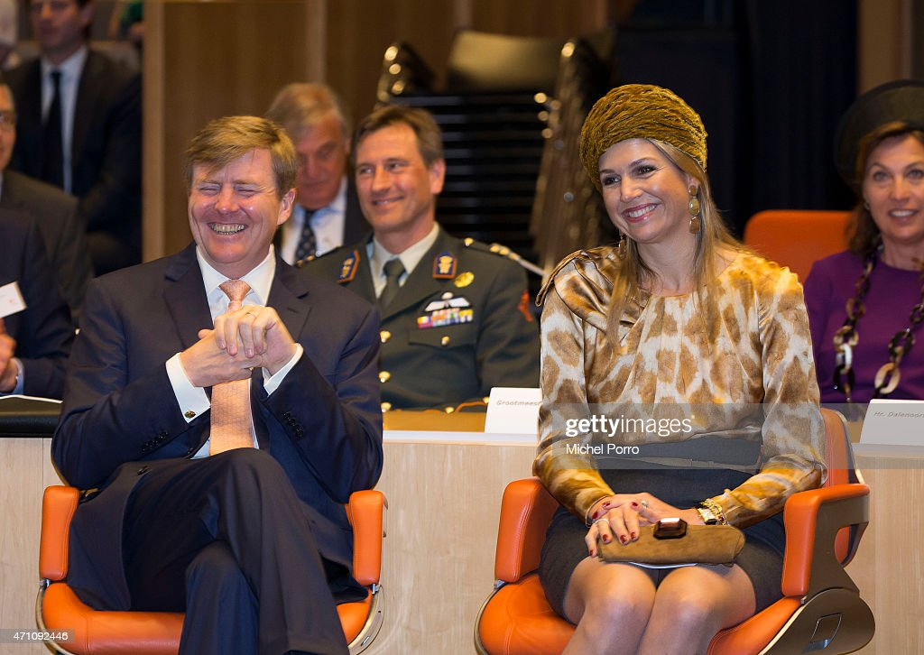 King Willem-Alexander and Queen Maxima of The Netherlands Attend 200 Year Kingdom Celebrations : News Photo