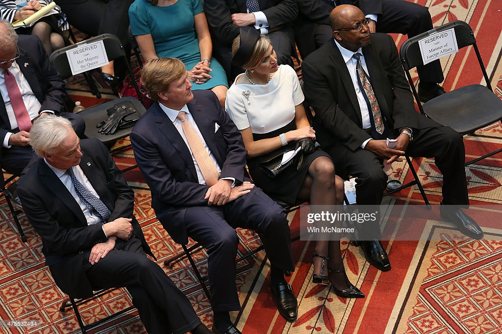 Dutch King And Queen Visit Washington, Attend Global City Team Challenge Event : News Photo