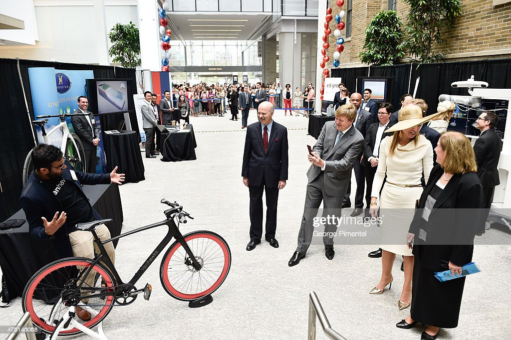 King Willem-Alexander And Queen Maxima Of The Netherlands State Visit To Canada : Foto jornalística