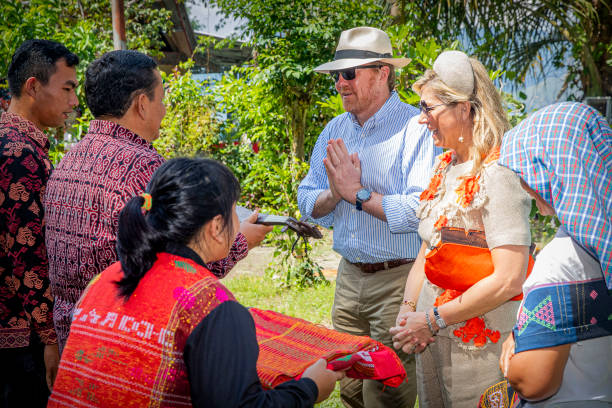 IDN: King Willem-Alexander Of The Netherlands And Queen Maxima - State Visit To Indonesia : Day Three