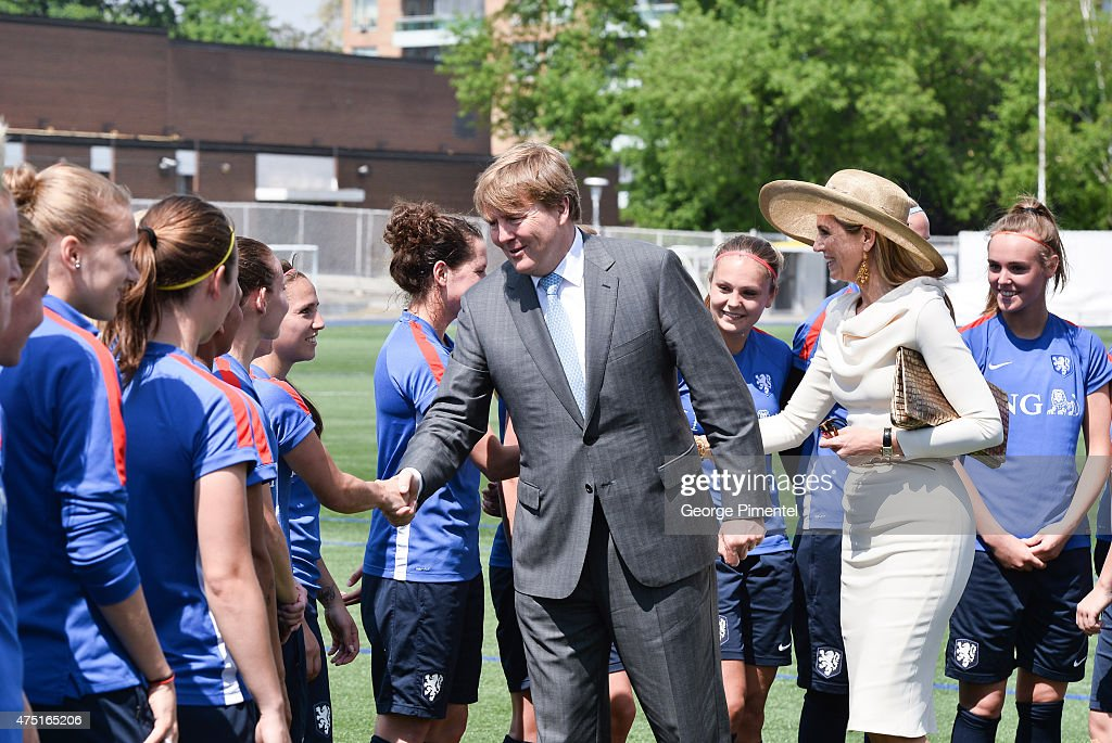 King Willem-Alexander And Queen Maxima Of The Netherlands State Visit To Canada : Nachrichtenfoto