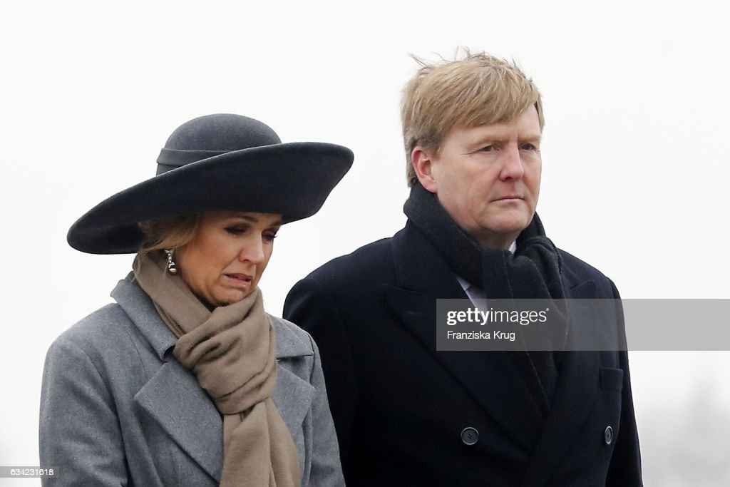 King Willem-Alexander And Queen Maxima Of The Netherlands Visit Thuringia - Day 2 : Foto di attualità