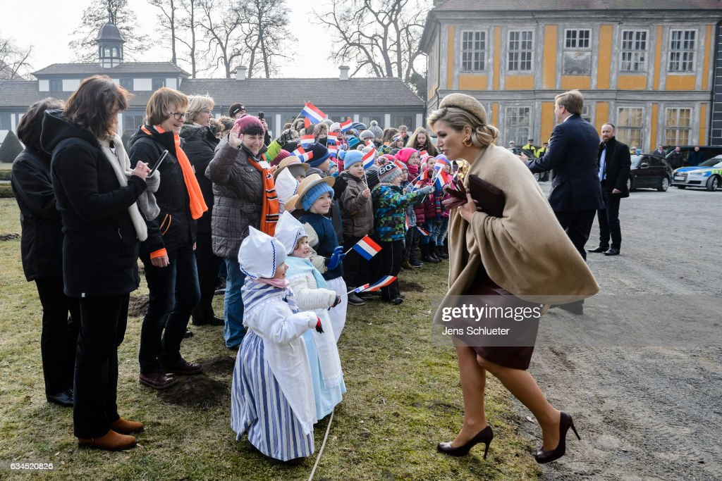 King Willem-Alexander And Queen Maxima Of The Netherlands Visit Thuringia - Day 4 : Foto jornalística