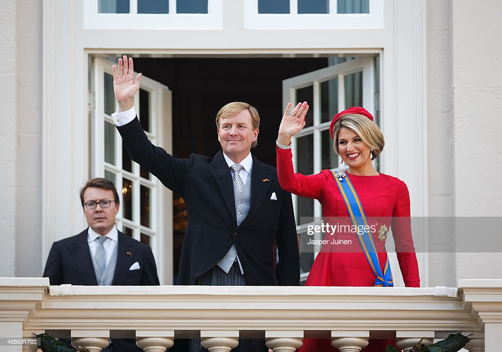 King Willem-Alexander Addresses His Government On Budget Day : News Photo