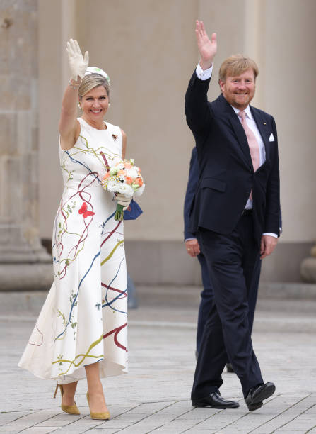 DEU: King Willem-Alexander Of The Netherlands And Queen Maxima Visit Berlin - Day One