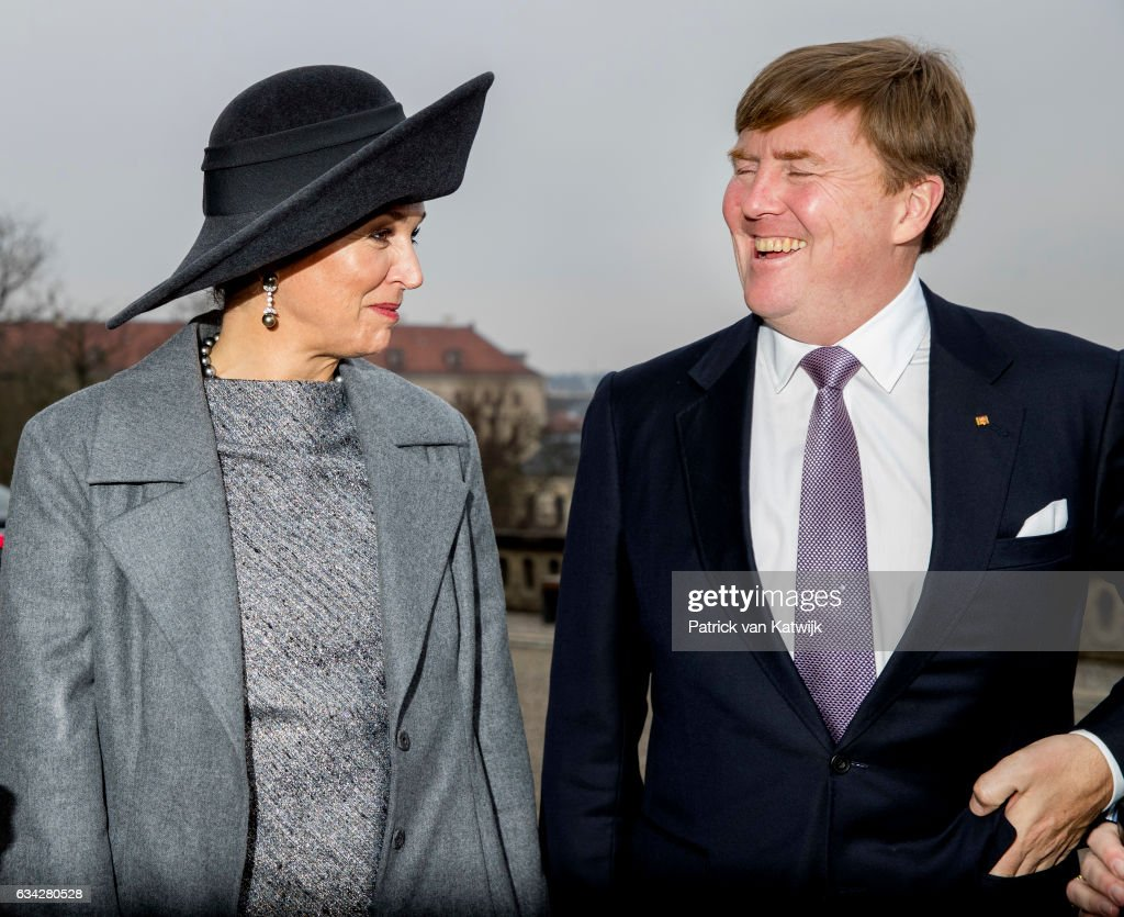 King Willem-Alexander and Queen Maxima Visit Germany - Day 2 : News Photo