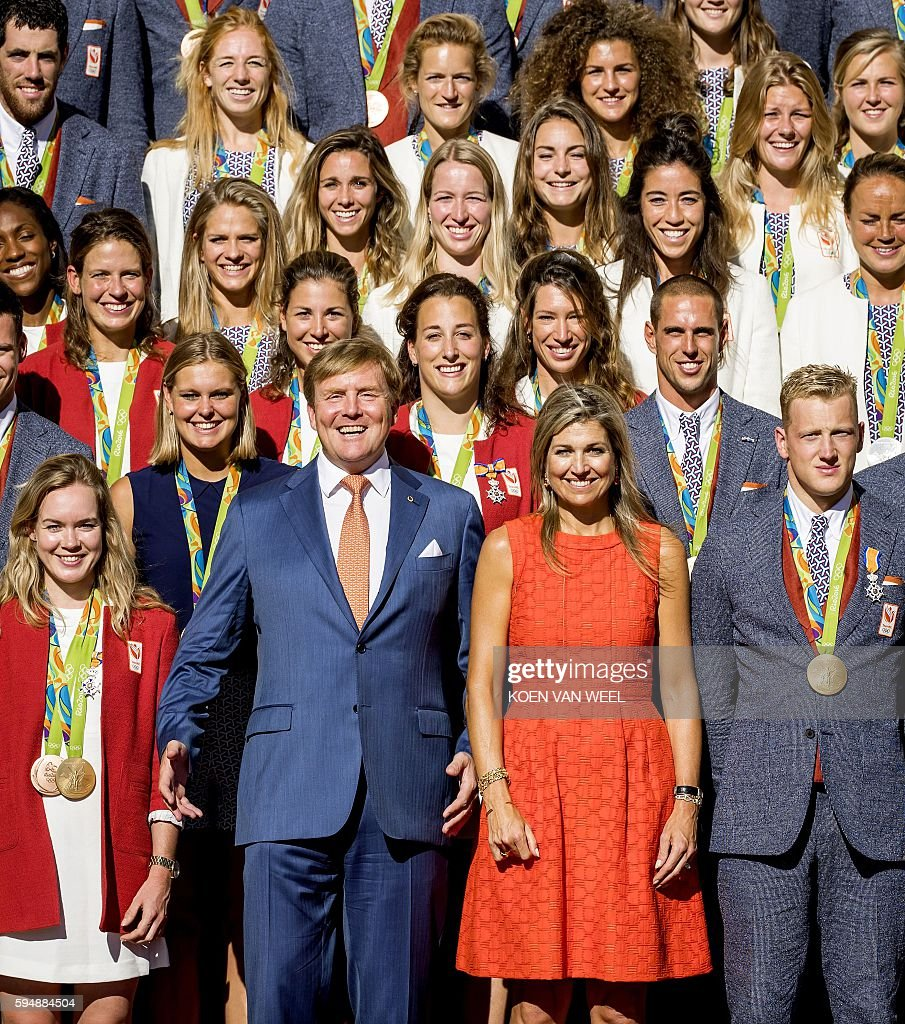 NETHERLANDS-OLY-ROYALS : News Photo