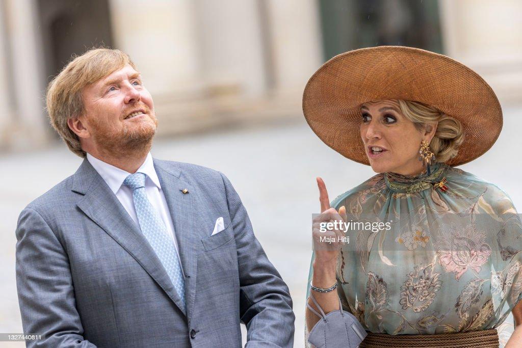 King Willem-Alexander Of The Netherlands And Queen Máxima Visit Berlin - Day Three : Nieuwsfoto's