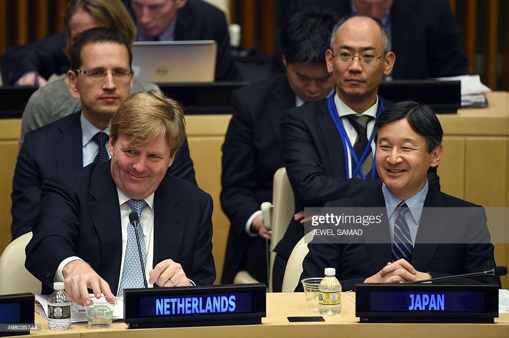 UN-ENVIRONMENT-NETHERLANDS-JAPAN : News Photo