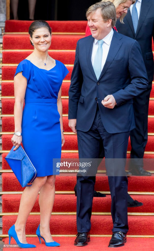Crown Princess Victoria Of Sweden Attends Organisation For The Prohibition of Chemical Weapons' (OPCW) In The Hague : News Photo