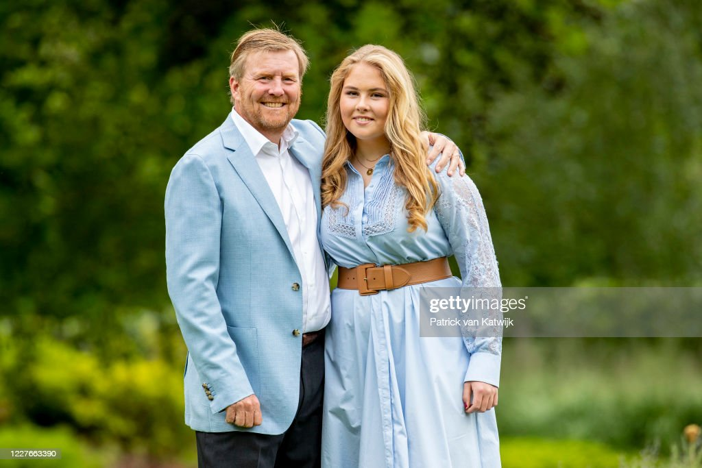 Dutch Royal Family Summer Photosession : News Photo