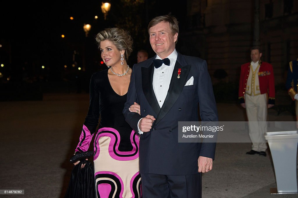 King Willem-Alexander Of The Netherlands And Queen Maxima On Official Two Days State Visit In Paris : Day Two : Nieuwsfoto's