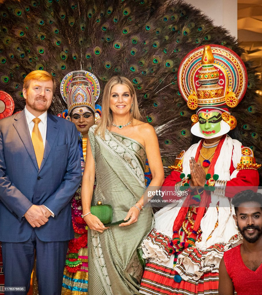 King Willem-Alexander Of The Netherlands And Queen Maxima : State Visit : Day Four In India : News Photo