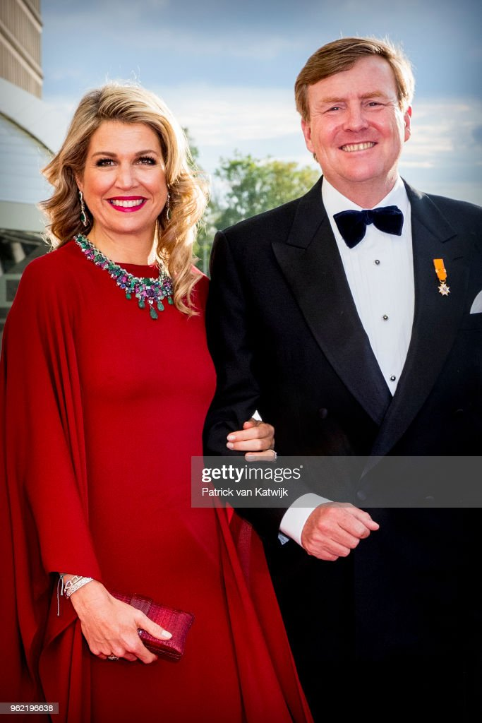 King And Queen Of The Netherlands Visit Luxembourg : Day Two : News Photo