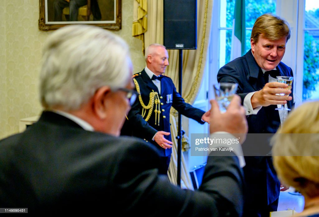 State Visit Of The King And Queen Of The Netherlands to Ireland - Day One : News Photo