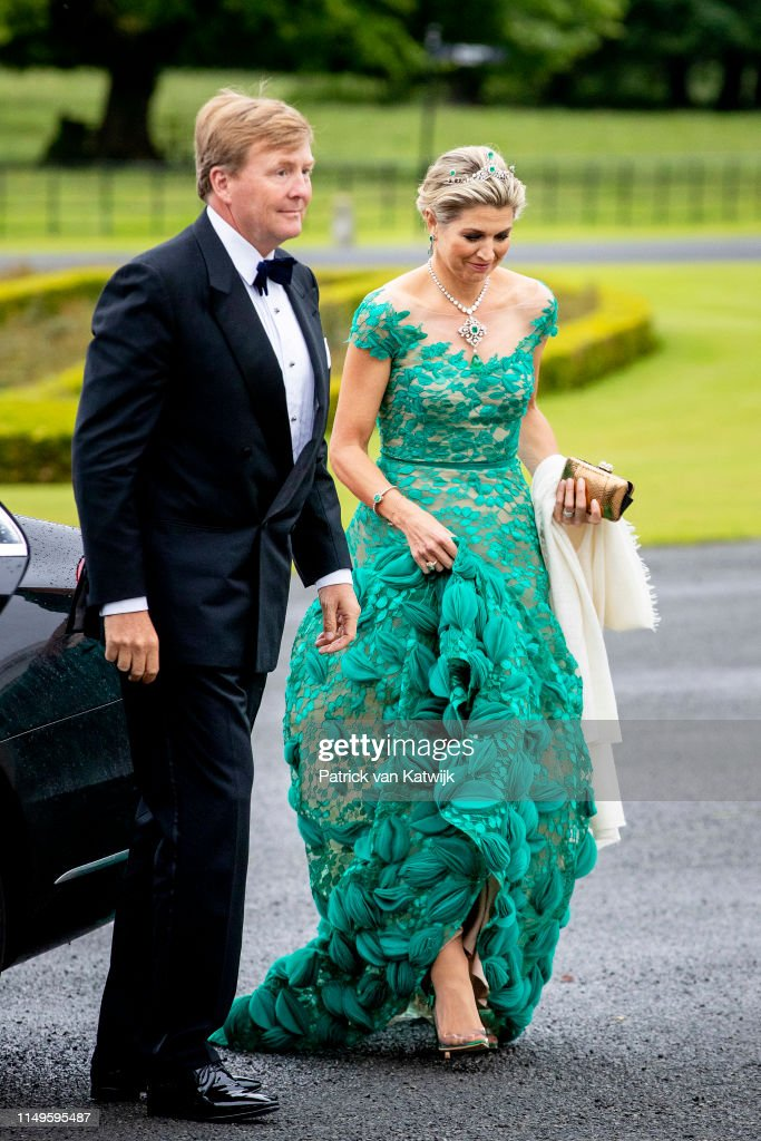 State Visit Of The King And Queen Of The Netherlands to Ireland - Day One : Nieuwsfoto's